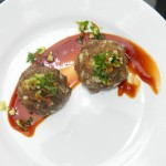 Deconstructed Meatloaf with Bacon Gremolata