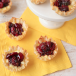Cranberry Chutney Appetizer Tarts