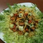 Maple, Apple & Roasted Harvest Vegetable Salad