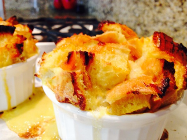 Apricot Breakfast Bread Pudding