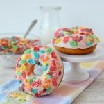 Cereal Milk Doughnuts