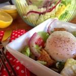 Greek Breakfast Salad with Lemon-Currant Vinaigrette