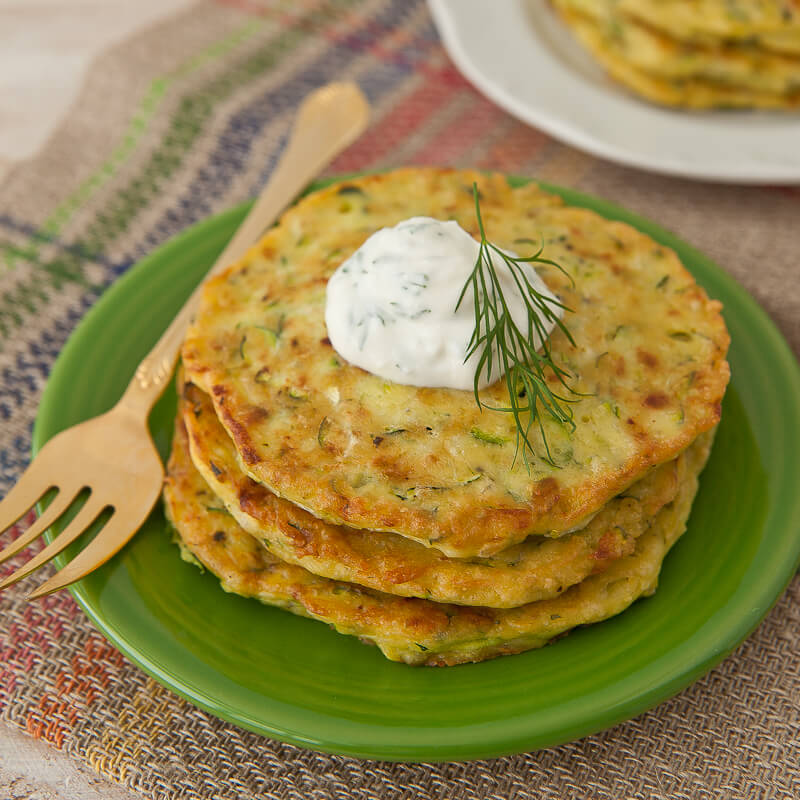 Easy Zucchini Pancakes