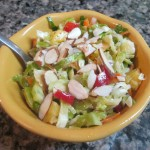 Brussels Sprouts Salad with Pineapple