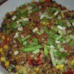 Corn, Black Bean and Tomato Salad