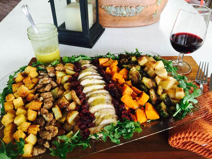 Thanksgiving Salad With Chardonnay Vinaigrette