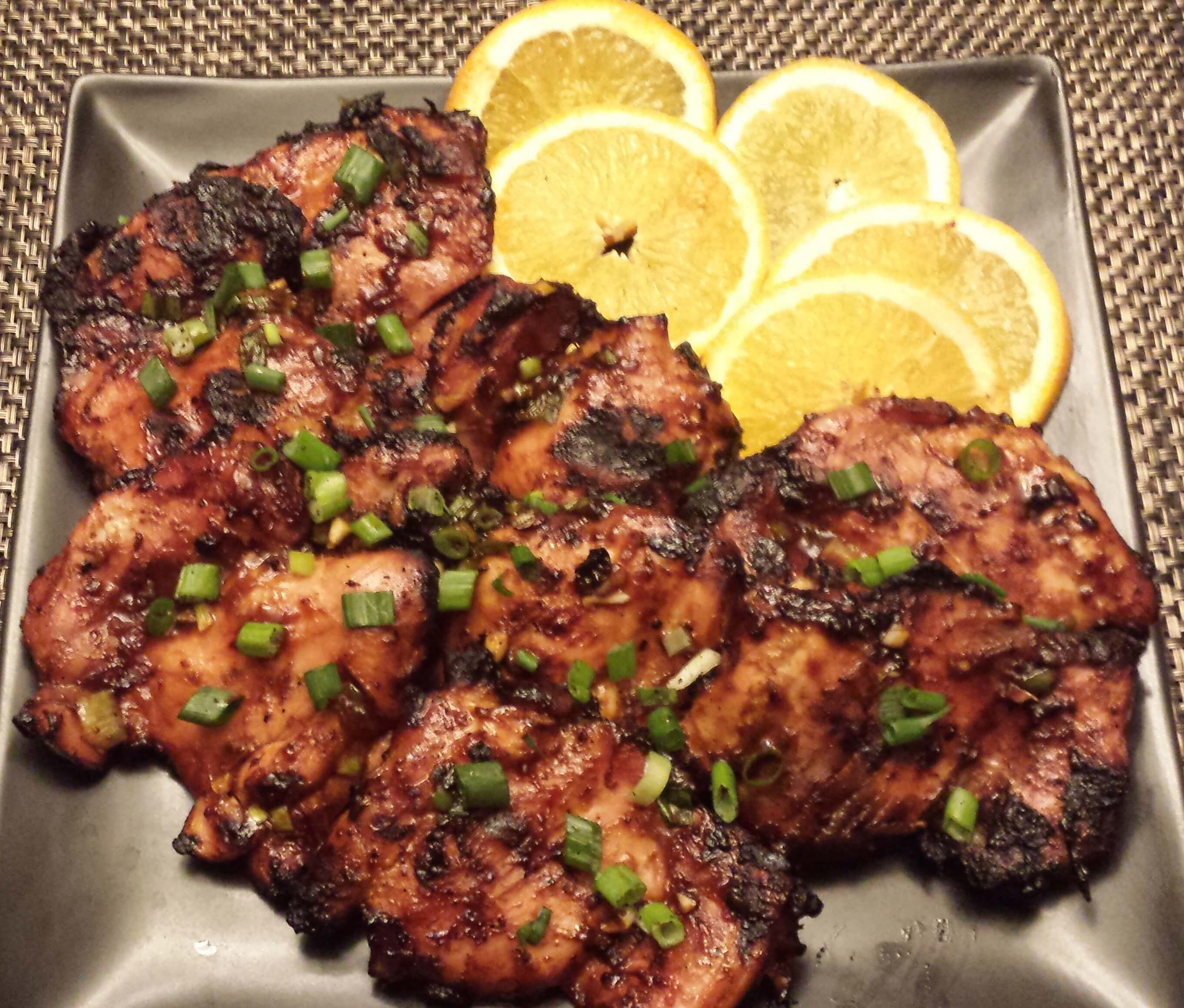 "... Grilled Orange Chicken"" received rave reviews from our judges"