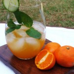 Cucumber Clementine Cocktail