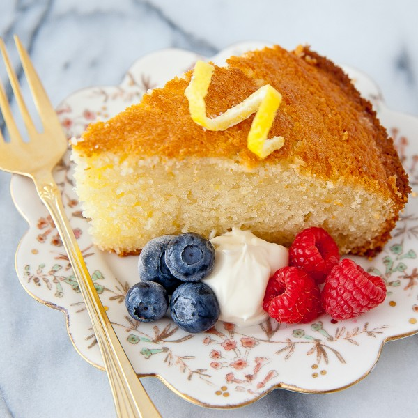 "French ""Gateau au Yaourt"" – (A No Measure Cake!)"
