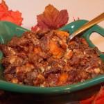 Spiced and Loaded Sweet Potato Casserole