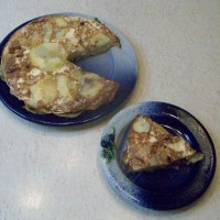 Potato, Onion and Bacon Tart