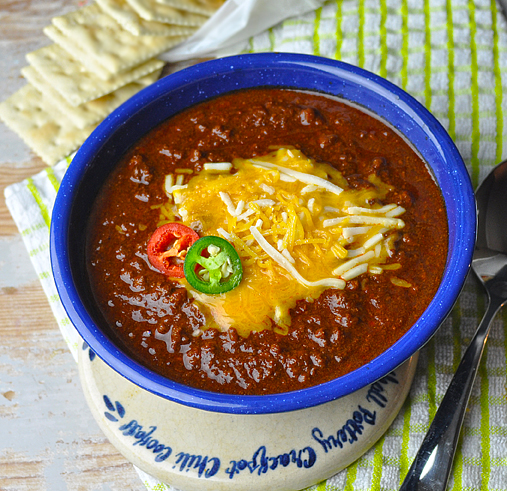 Competition-Style Texas Chili