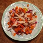 Colorful Quinoa & Persimmon Salad