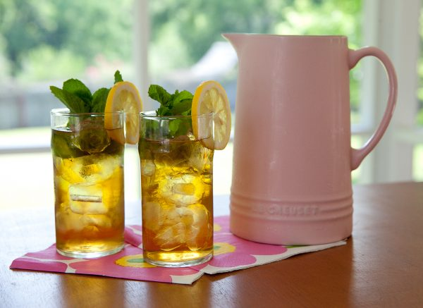 Southern-Style Mint Sweet Tea
