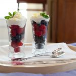 Fresh Berries with Lemon Cream