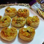 Crumb-Topped Broccoli Cheese Palmiers