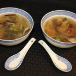 Asian Chicken, Rice, and Vegetable Soup