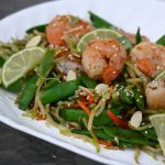 Asian Snappy Shrimp and Broccoli Slaw Sensational Stir-Fry