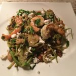 Greek Style Shrimp Stir-Fry