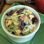 Smokehouse Cranberry Broccoli Slaw